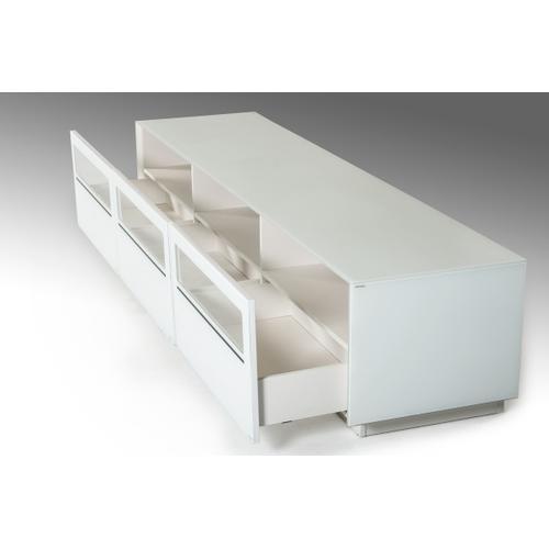 Modrest Landon Contemporary White TV Stand