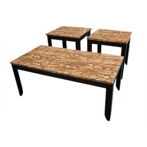 Desert Barkstone Coffee & End Table Set
