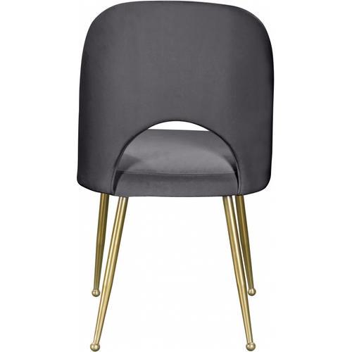 "Logan Velvet Dining Chair - 20"" W x 21.5"" D x 34.5"" H"