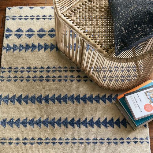 Gallery - Viking Stripe Alabaster Lapis - Rectangle - 5' x 8'