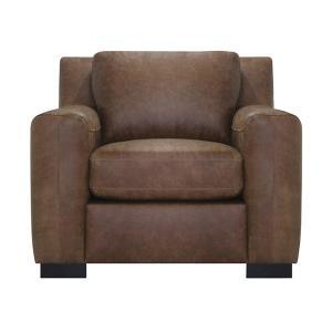Luke Leather - Nora Chair