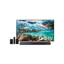 "Home Entertainment Package with 75"" RU7100 4K UHD Smart TV"
