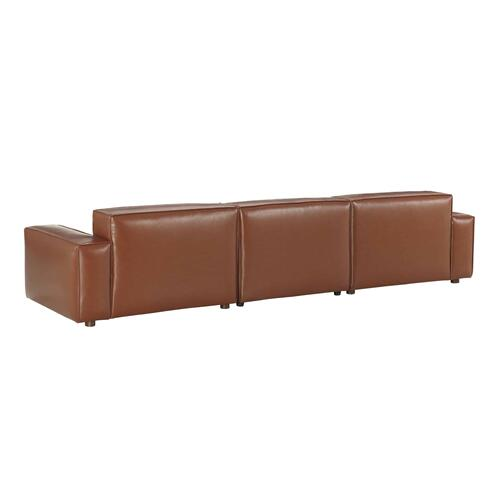 A.R.T. Furniture - Olafur Upholstered 3-piece Modular Loveseat in Caramel by A.R.T. Furniture