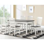Caylie 7 Piece Dining Set(Table & 6 Side Chairs)