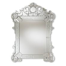 See Details - Baxton Studio Floriana Classic and Traditional Silver Finished Venetian Style Accent Wall Mirror