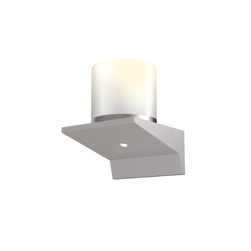 "Sonneman - A Way of Light - Votives LED Sconce [Color/Finish=Bright Satin Aluminum, Shade Size=3"" height x 3"" diameter]"