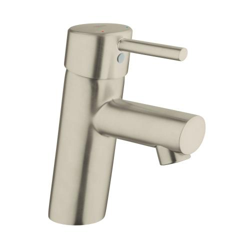 Concetto Single Hole Single-handle S-size Bathroom Faucet 1.2 Gpm Less Drain