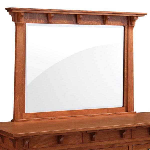 See Details - M Ryan Dresser Mirror