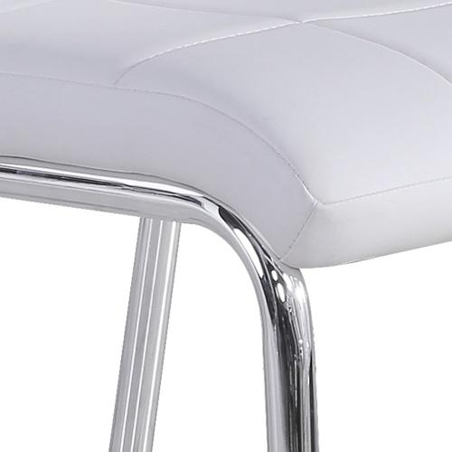 Solara II Side Chair, set of 4 in White