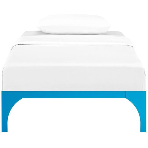 Ollie Twin Bed Frame in Light Blue