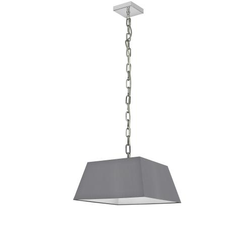 Product Image - 1lt Milano Small Pendant, Gry Shade, PC