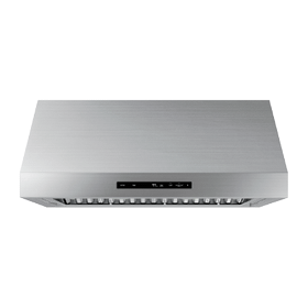 """36"""" Wall Hood, Silver Stainless Steel"""
