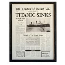 """TITANIC SINKS"""