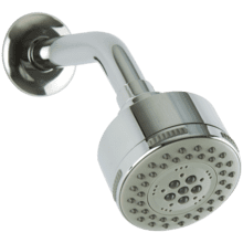 Multi Function Shower Head with Angled Arm, Black