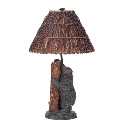 Cal Lighting & Accessories - 150W Resin Bear/Honey Bee Table Lp