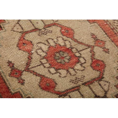 0351760006 Vintage Turkish Rug Wall Art