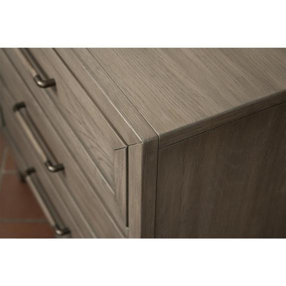 Riverside - Vogue - Three Drawer Nightstand - Gray Wash Finish