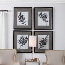 Eucalyptus Leaves Framed Prints, S/4