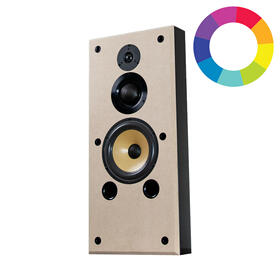 S1.8 Single Wall Bookshelf Speaker with Custom Finish