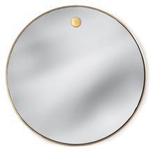 Hanging Circular Mirror (brass)