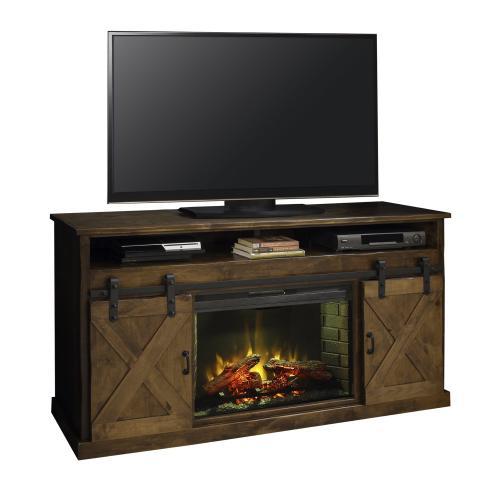 "Farmhouse 66"" Fireplace Console AWY"