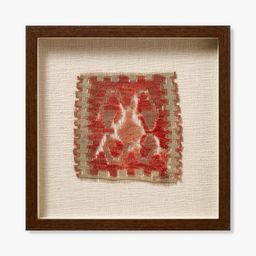 0351180017 Vintage Turkish Rug Wall Art