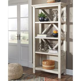 Carynhurst Large Bookcase Whitewash