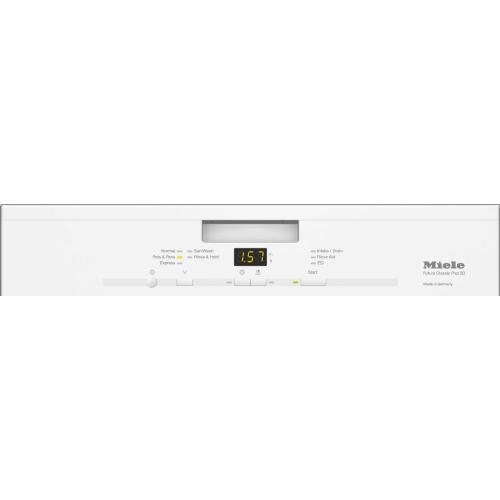 Miele - G 4948 SCU AM - Pre-finished, full-size dishwasher with visible control panel, cutlery tray and 5 Programs
