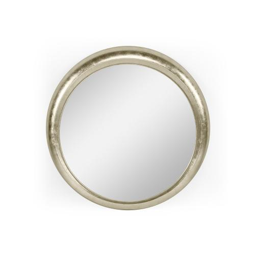 "22"" Sorbati Antique Silver Mirror"