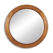 Circular stepped surround mirror (Large plain glass)