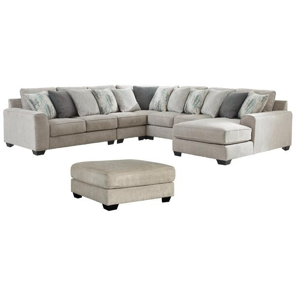 See Details - 5-piece Sectional With Ottoman
