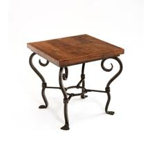 Steel Traditions - San Marino Square End Table