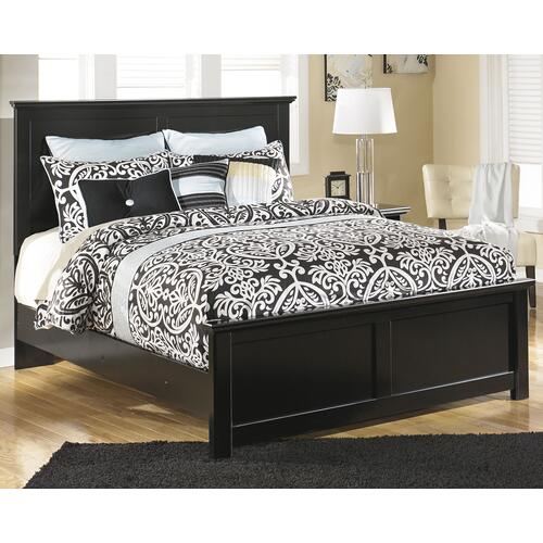 Queen/full Panel Headboard With Dresser