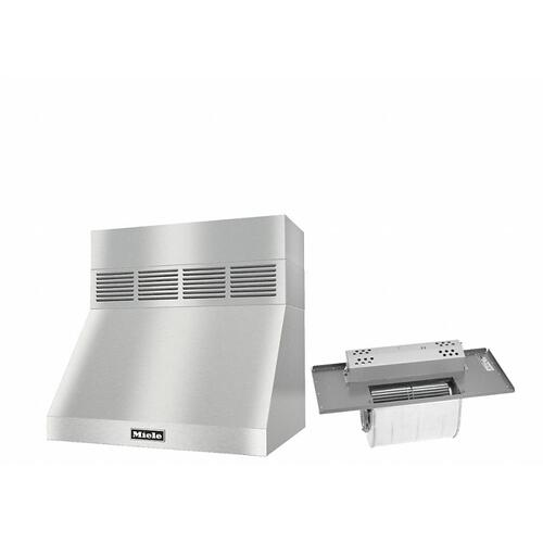 "DAR 1220 Set 2 Wall-Mounted Range Hood With Circulation Mode with integrated XL motor including 6"" chimney cover."