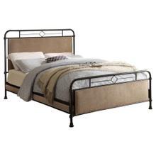 California King Platform Metal Bed