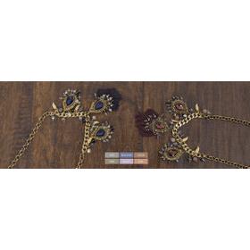 WB Short Vinitage Pendant Necklace (6 pc. ppk.)