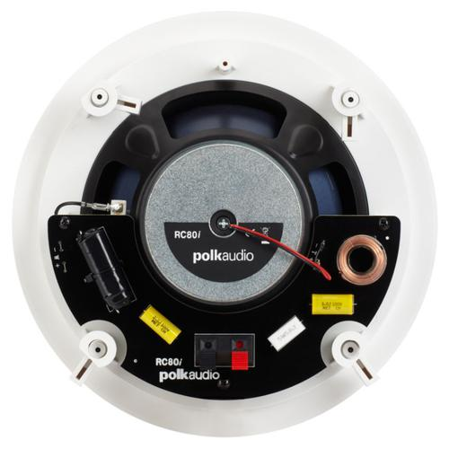 RCi Series round in-ceiling 2-way premium speaker with 8-inch driver in White