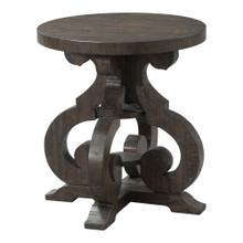 View Product - Stone End Table w/ PU Base