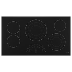 "Cafe Appliances36"" Touch-Control Electric Cooktop"