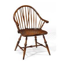 Small Walnut Windsor Chair (Arm)