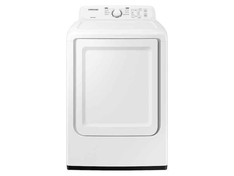 Samsung7.2 Cu. Ft. Gas Dryer With Sensor Dry And 8 Drying Cycles In White