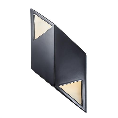 Small ADA Rhomboid LED Wall Sconce
