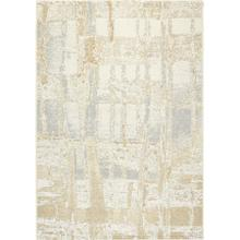 Intrigue 1205 Cream Beige Silver 8 X 11