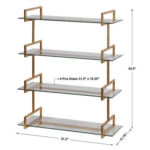 Uttermost - Auley Wall Shelf