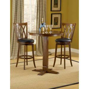 Hillsdale Furniture - Dynamic Designs 3pc Pub Set w/ Mansfield Stools