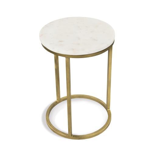 Nesting Side Table Bases - Brushed Brass Finish