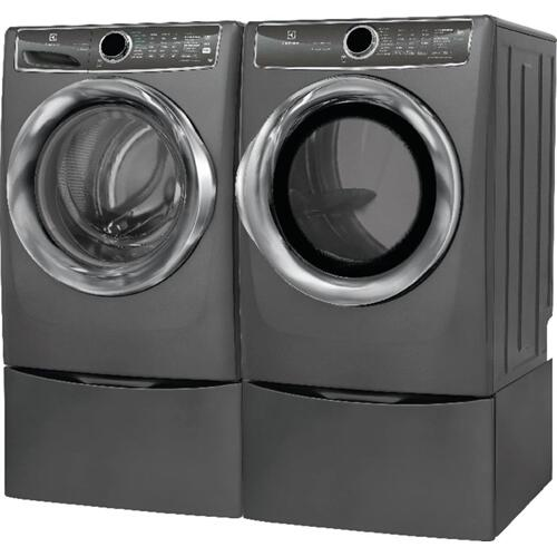 Electrolux - Front Load Perfect Steam Gas Dryer with PredictiveDry and Instant Refresh - 8.0. Cu. Ft.