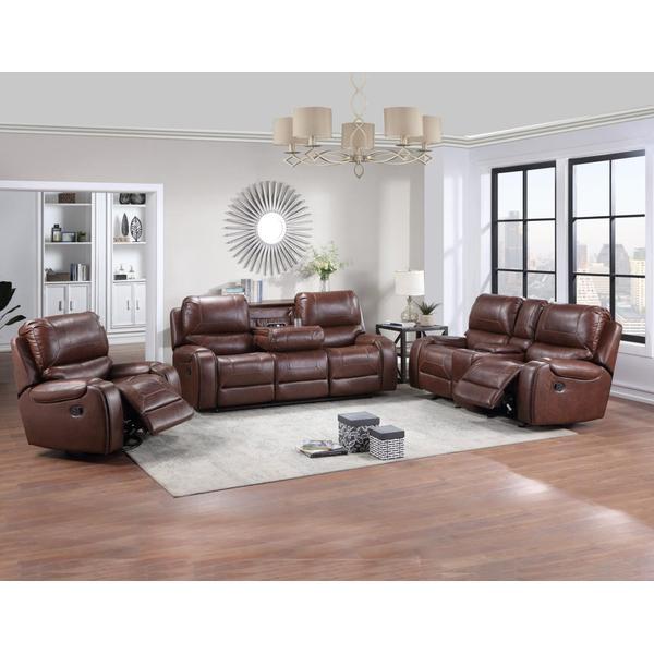 Keily 3 Piece Manual Motion Set (Sofa, Loveseat & Chair)