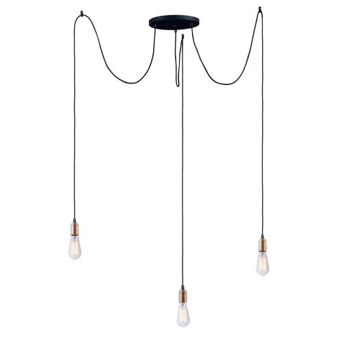 Early Electric 3-Light Pendant