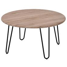 Tario Coffee Table in Natural/Black